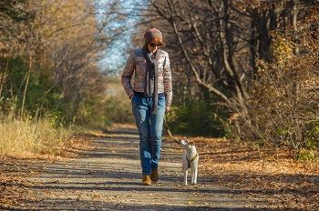 Woman-walking-dog-faceforward